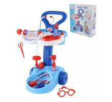 Детский набор с тележкой Доктор (в коробке) арт. 36582. Полесье
