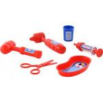 Детский игрушечный набор Доктор №4 (6 элементов) (в пакете) арт. 59192. Полесье