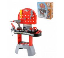Детский игровой набор Механик-макси с электрошуруповертом (в коробке) арт. 43221. Полесье