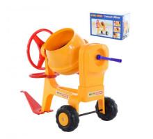 Бетономешалка детская №1 с прицепным устройством (в коробке) арт. 43757. Полесье