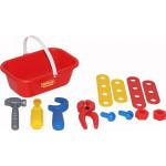 Детский игровой набор Механик, (12 элементов) (в корзинке) арт. 56061. Полесье