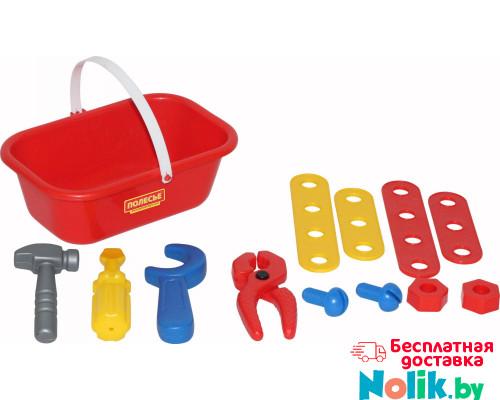 Детский игровой набор Механик, (12 элементов) (в корзинке) арт. 56061. Полесье в Минске