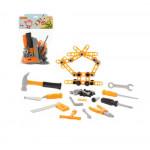 Детский игровой набор инструментов №4 (72 элемента) (в пакете) арт. 47182. Полесье