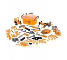 Детский игровой набор инструментов №10 (166 элементов) (в контейнере) арт. 53503. Полесье