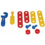 Детский игровой набор Механик (10 элементов) (в сеточке) арт. 56054. Полесье