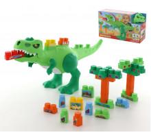 Набор Динозавр+конструктор(30 элементов)(в коробке) арт. 67807. Полесье