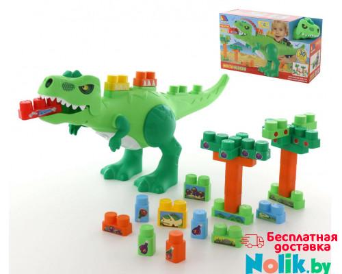 Набор Динозавр+конструктор(30 элементов)(в коробке) арт. 67807. Полесье в Минске