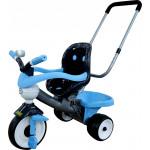 """Детский трехколесный  велосипед """"Амиго №2"""" с ограждением, клаксоном, ручкой и мягким сиденьем арт. 46826. Полесье"""