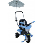 """Велосипед 3-х колёсный """"Амиго №3"""" с ограждением, клаксоном, ручкой, ремешком, мягким сиденьем и зонт арт. 46932. Полесье"""