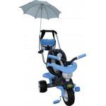 """Велосипед 3-х колёсный """"Амиго №3"""" с ограждением, клаксоном, ручкой, ремешком, мягким сиденьем, сумко арт. 46949. Полесье"""
