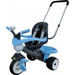 """Детская игрушка велосипед 3-х колёсный """"Амиго"""" с ограждением, клаксоном, ручкой, ремешком и мягким сиденьем арт. 46703. Полесье"""