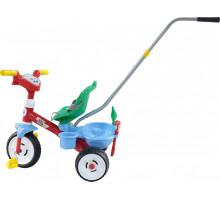"""Детский велосипед 3-х колесный """"Беби Трайк"""" с ручкой, звуковым сигналом и ремешком + Набор (2 элемента) арт. 46741. Полесье"""