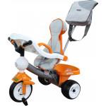 """Велосипед 3-х колёсный """"Дидактик"""" с игровой панелью, ручкой, ремешком, чехлом и сумкой арт. 46567. Полесье"""