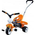 """Детская игрушка велосипед 3-х колёсный """"Дидактик №2"""" с ручкой и ремешком арт. 46369. Полесье"""