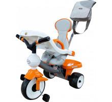 """Велосипед 3-х колёсный """"Дидактик №2"""" с игровой панелью, ручкой, ремешком, чехлом и сумкой арт. 46581. Полесье"""