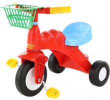 """Детский велосипед 3-х колесный """"Малыш"""" с корзинкой арт. 46192. Полесье"""