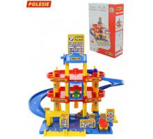Детский паркинг   3-уровневый с автомобилями (в коробке) арт. 37893. Полесье