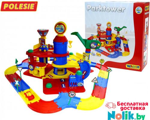 Детский паркинг 3-уровневый с дорогой и автомобилями (в коробке) арт. 37862. Полесье в Минске