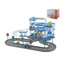 """Детская игрушка паркинг  """"ARAL"""" 3-уровневый с дорогой (в коробке) арт. 40428. Полесье"""