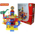 Детский гараж паркинг  4-уровневый с автомобилями (в коробке) арт. 37855. Полесье