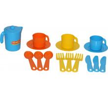 Игровой набор посуды  Анюта  на 3 персоны арт. 3834. Полесье