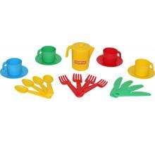 Набор детской посуды  Анюта  на 4 персоны арт. 3841. Полесье