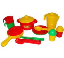 Игровой набор посуды  Настенька  на 2 персоны арт. 3902. Полесье