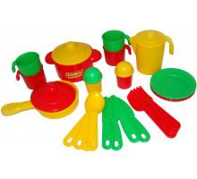 Набор детской посуды  Настенька  на 4 персоны арт. 3926. Полесье