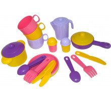 Посуда детская  Хозяюшка  на 3 персоны арт. 3995. Полесье