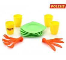 Набор детской посуды столовый на 4 персоны арт. 40633. Полесье