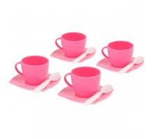 Игровой набор посуды  Алиса  на 4 персоны (12 элементов) (в сеточке) арт. 56023. Полесье