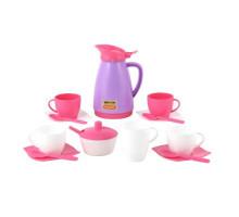 Детская посуда  Алиса  на 4 персоны (Pretty Pink) арт. 40626. Полесье