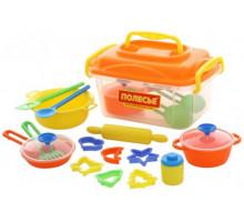 Набор детской посуды (20 элементов) (в контейнере) арт. 56634. Полесье