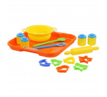 Набор детской посуды для выпечки №1 с подносом арт. 40749. Полесье