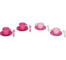 Набор детской посуды на 2 персоны (в сеточке) (микс №1) арт. 56030. Полесье