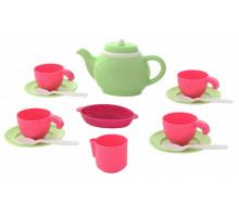 Игровой набор детской посуды на 4 персоны (16 элементов) (в сеточке) арт. 61386. Полесье