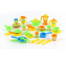 Набор детской посуды (50 элементов) (в коробке) арт. 67906. Полесье