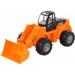 Детская игрушка трактор-погрузчик (в сеточке) арт. 8886. Полесье
