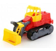 Детская игрушка гусеничный трактор-погрузчик арт. 7377. Полесье