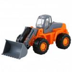 Детская игрушка трактор-погрузчик Умелец арт. 35400. Полесье