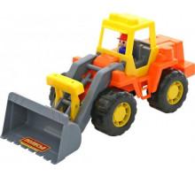 Детская игрушка трактор-погрузчик Техник арт. 36988. Полесье