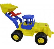 Детская игрушка Полесье трактор-погрузчик Великан арт. 38081. Полесье