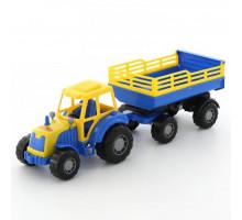 Детская игрушка Полесье трактор с прицепом №2 Мастер арт. 35271