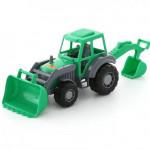 Детский трактор-экскаватор игрушка Полесье Мастер арт. 35318