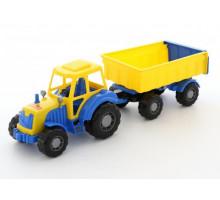 Трактор с прицепом №1 Полесье Алтай арт. 35332