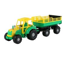 Детская игрушка Полесье трактор с прицепом №2 Алтай арт. 35356