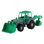 Игрушка Полесье трактор-экскаватор Алтай Цвет зеленый арт. 35394