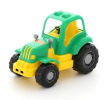 Детская игрушка трактор Полесье Силач арт. 44945