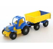 Детская игрушка Силач трактор с прицепом №1 арт. 44952. Полесье