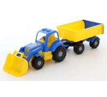 Полесье трактор с прицепом №1 и ковшом Силач арт. 45027
